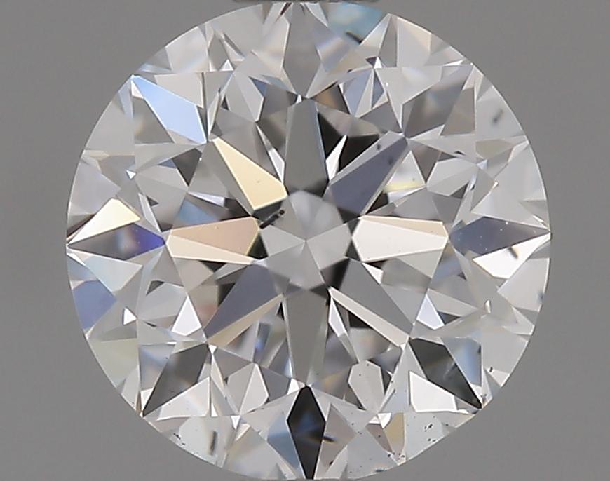 1.00 Carat D-SI1 Very Good Round Diamond