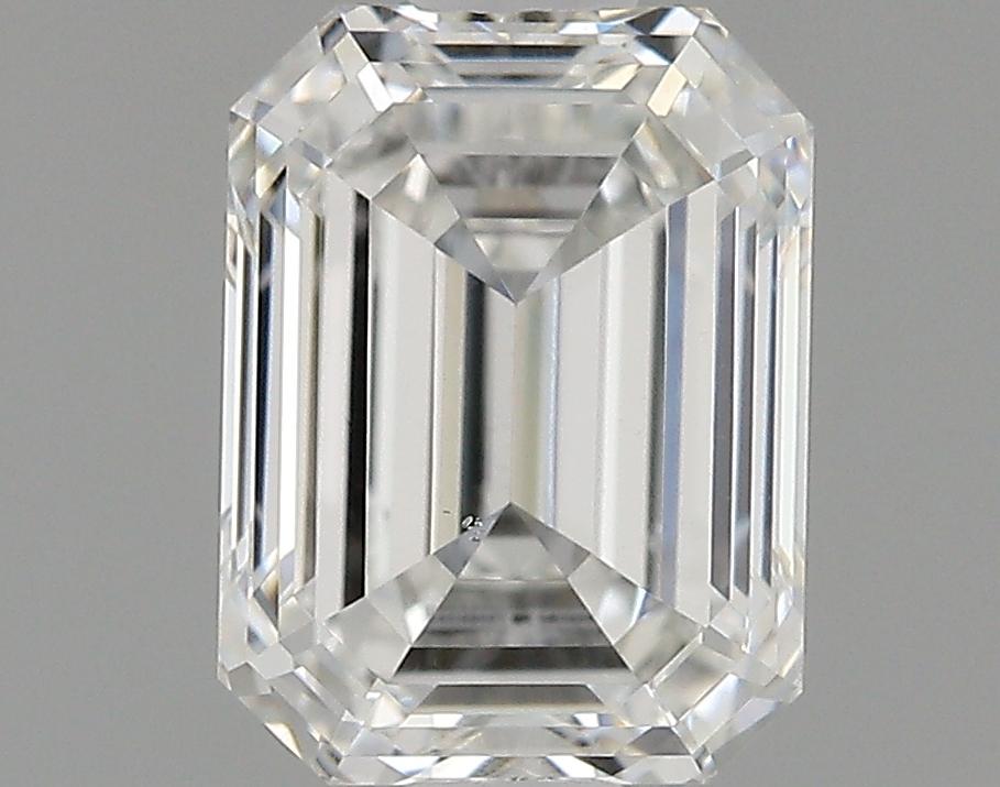 1.00 Carat E-VS2 Excellent Emerald Diamond
